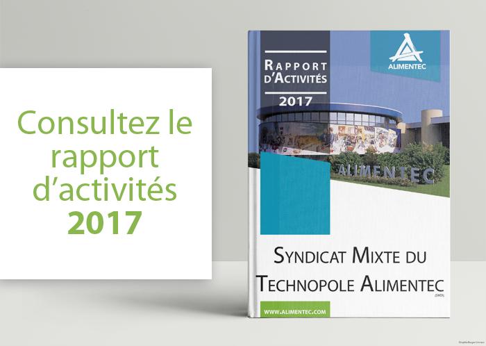 Visuel rapport d'activités 2017